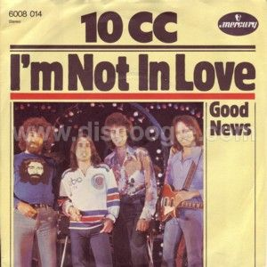 10cc - I'm Not In Love piano sheet music