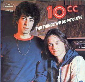 10cc - The Things We Do for Love piano sheet music