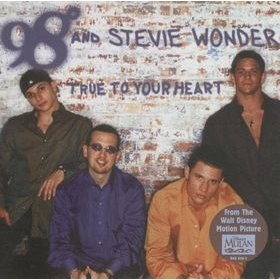 98 Degrees - True to Your Heart (featuring Stevie Wonder) piano sheet music