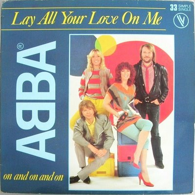 Abba - Lay All Your Love on Me piano sheet music