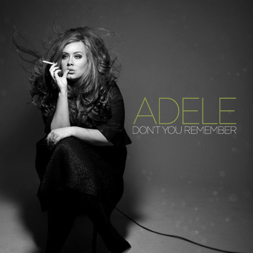 Adele - Don't You Remember piano sheet music