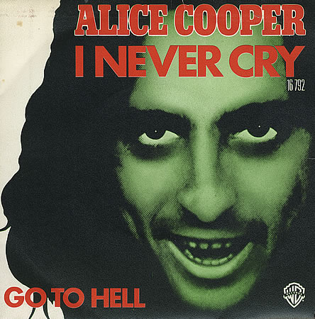 Alice Cooper - I Never Cry piano sheet music