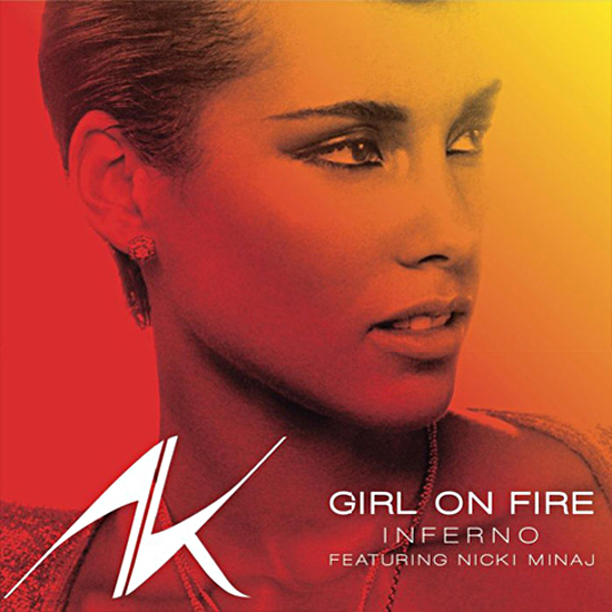 Alicia Keys - Girl on Fire piano sheet music