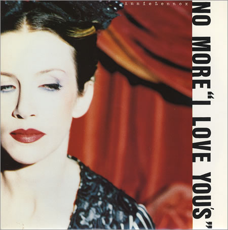Annie Lennox - No More I Love You's piano sheet music