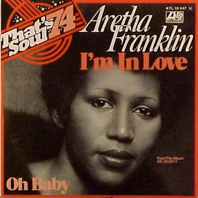 Aretha Franklin - I'm in Love piano sheet music