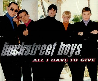 Backstreet Boys - All I Have to Give piano sheet music