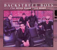 Backstreet Boys - I'll Never Break Your Heart piano sheet music