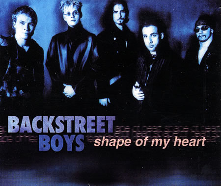 Backstreet Boys - Shape of My Heart piano sheet music