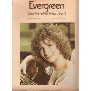 Barbra Streisand - Evergreen (Love Theme from A Star Is Born) piano sheet music