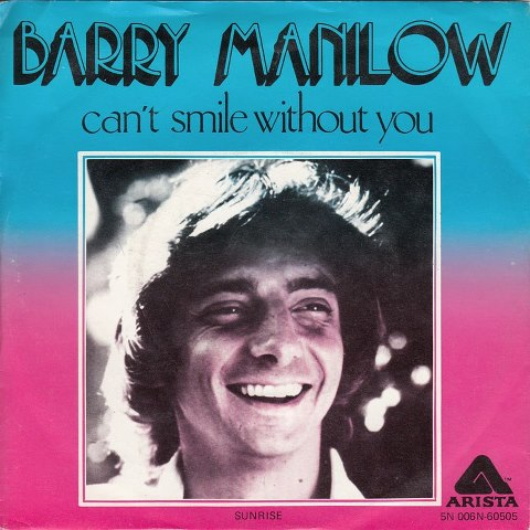 Barry Manilow - Can't Smile Without You piano sheet music