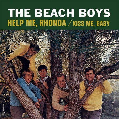 The Beach Boys - Help Me, Rhonda piano sheet music