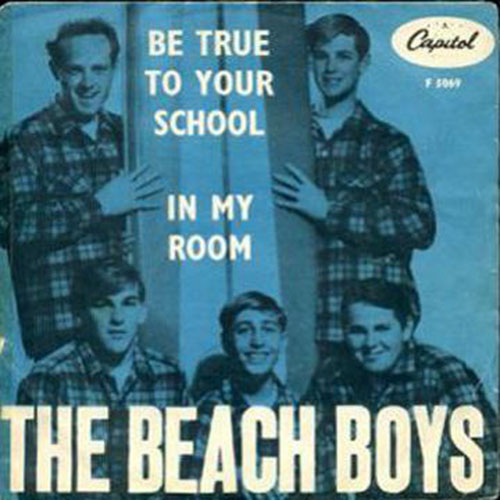 The Beach Boys - In My Room piano sheet music