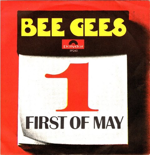 Bee Gees - First of May piano sheet music