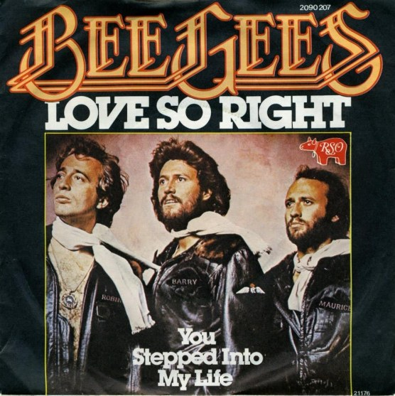 Bee Gees - Love So Right piano sheet music