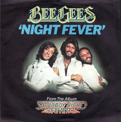 Bee Gees - Night Fever piano sheet music