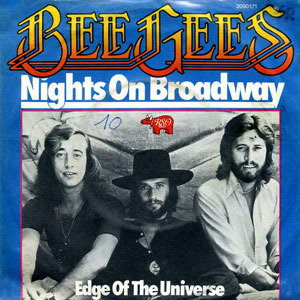 Bee Gees - Nights on Broadway piano sheet music