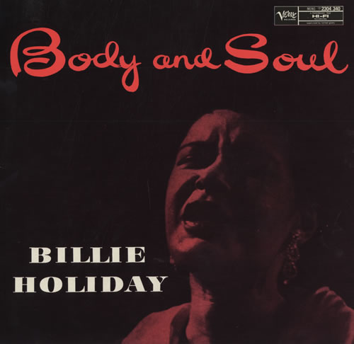 Billie Holiday - Body and Soul piano sheet music