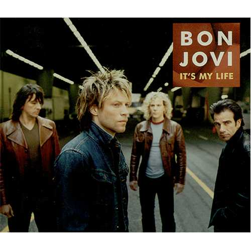 Bon Jovi - It's My Life piano sheet music
