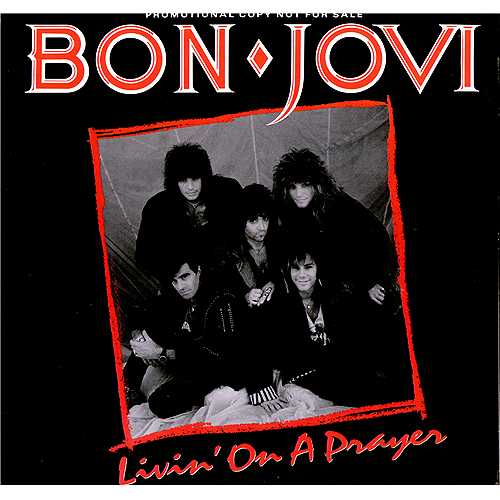 Bon Jovi - Livin' on a Prayer piano sheet music