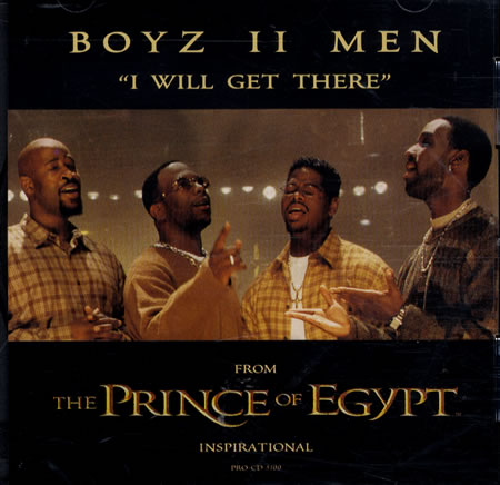 Boyz II Men - I Will Get There piano sheet music