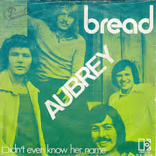 Bread - Aubrey piano sheet music