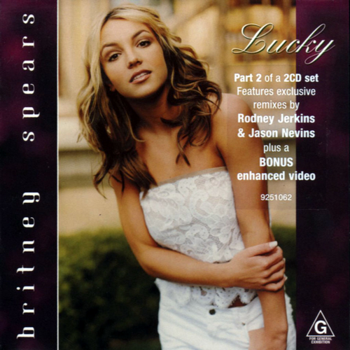 Britney Spears - Lucky piano sheet music