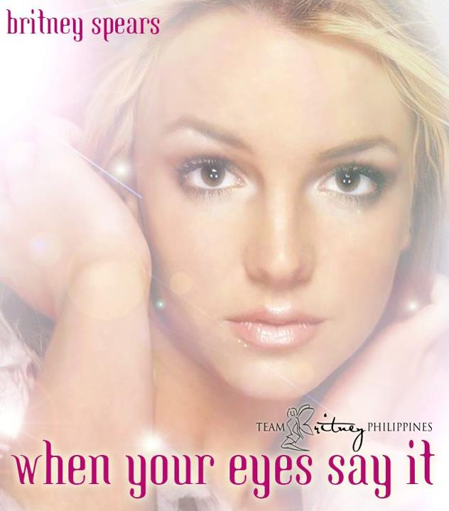 Britney Spears - When Your Eyes Say It piano sheet music