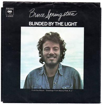Bruce Springsteen - Blinded by the Light piano sheet music