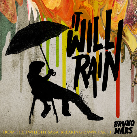 Bruno Mars - It Will Rain piano sheet music