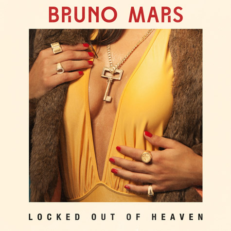 Bruno Mars - Locked Out of Heaven piano sheet music