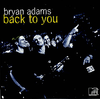 Bryan Adams - Back to You piano sheet music