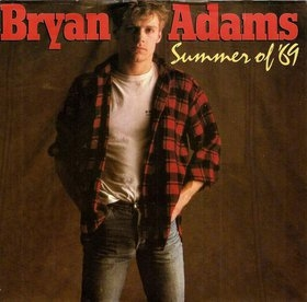 Bryan Adams - Summer of '69 piano sheet music