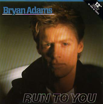 Bryan Adams - Run to You piano sheet music