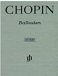 Frederic Chopin - Ballade No. 1 in G minor, Op. 23 piano sheet music