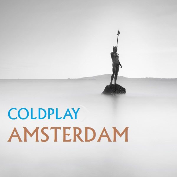 Coldplay - Amsterdam piano sheet music