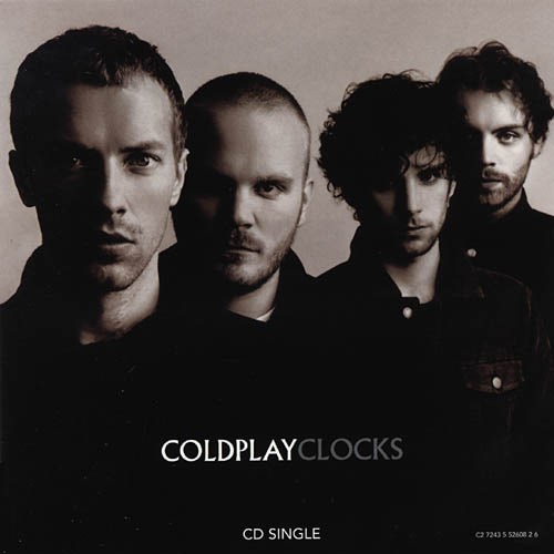 Coldplay - Clocks piano sheet music