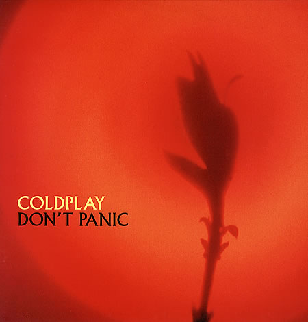 Coldplay - Don't Panic piano sheet music