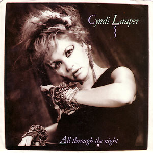 Cyndi Lauper - All Through the Night piano sheet music