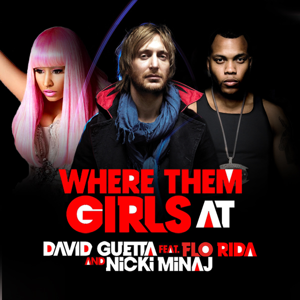 David Guetta - Where Them Girls At piano sheet music