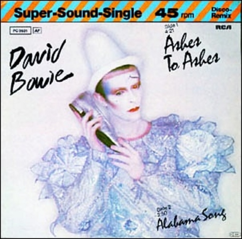 David Bowie - Ashes to Ashes piano sheet music
