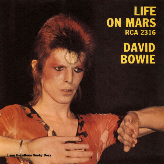 David Bowie - Life on Mars piano sheet music