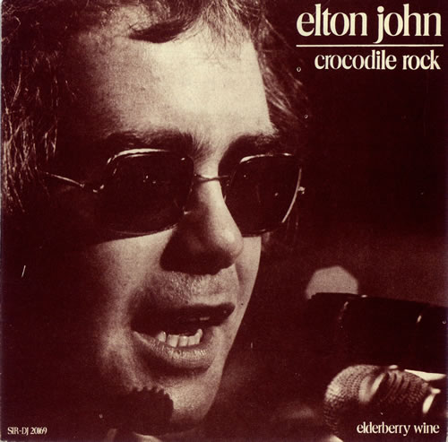 Elton John - Crocodile Rock piano sheet music