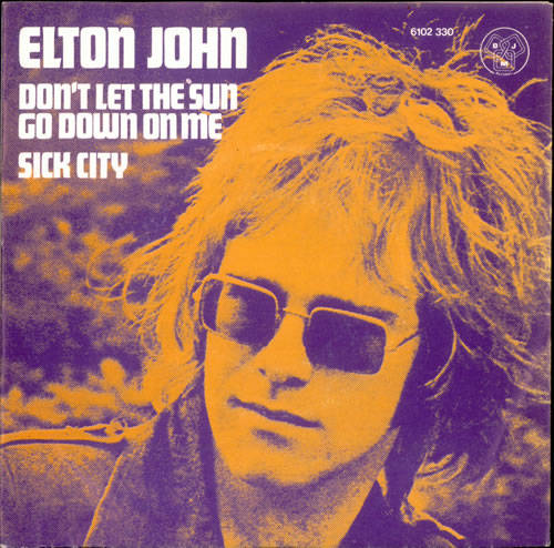 Elton John - Don't Let The Sun Go Down On Me piano sheet music