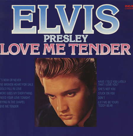 Elvis Presley - Love Me Tender piano sheet music