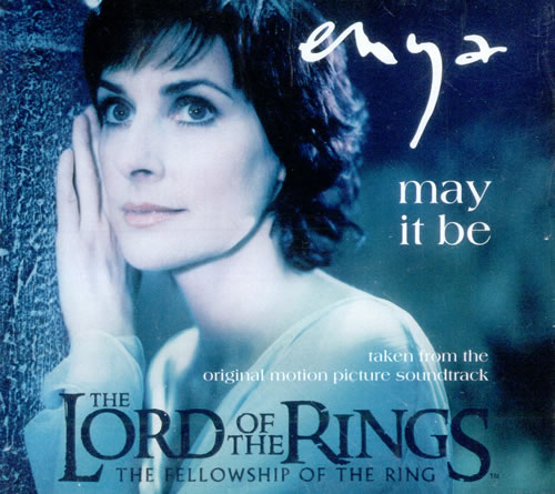 Enya - May It Be (Lord of the Rings soundtrack) piano sheet music
