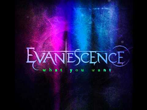 Evanescence - What You Want piano sheet music