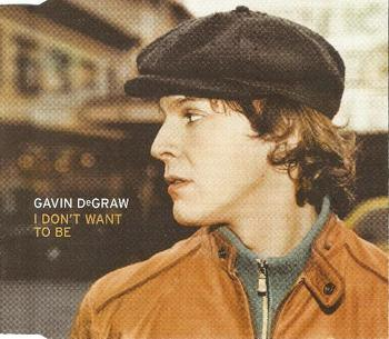 Gavin DeGraw - I Don't Want to Be piano sheet music