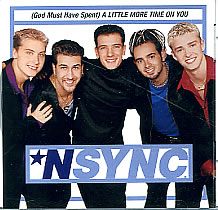 N Sync - (God Must Have Spent) A Little More Time on You piano sheet music