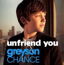 Greyson Chance - Unfriend You piano sheet music