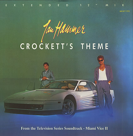 Jan Hammer - Crockett's Theme (Miami Vice) piano sheet music